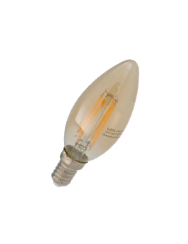 Bulb C37 Filamento 4W Dimmable