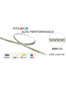 Fita Led 24V 21,86W/Mt....